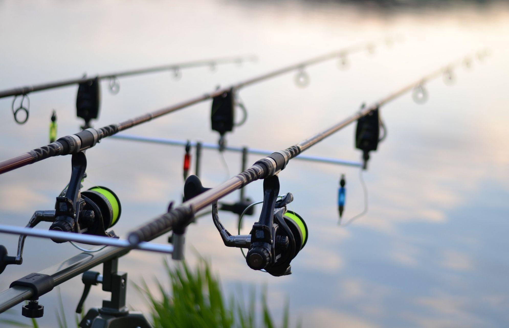 Rybaření v kempu Olbík